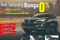 Promo Beli Fortuner Bunga 0% Di Dealer Toyota Klaten