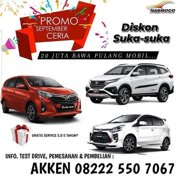 Promo September Ceria Beli Mobil Toyota Murah Di Toyota Klaten
