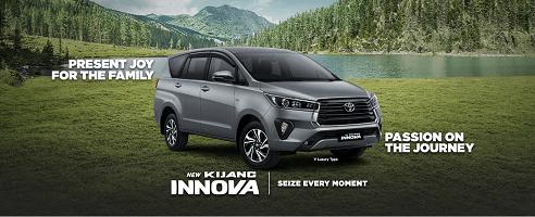 Mobil Kijang Innova Di Toyota Klaten