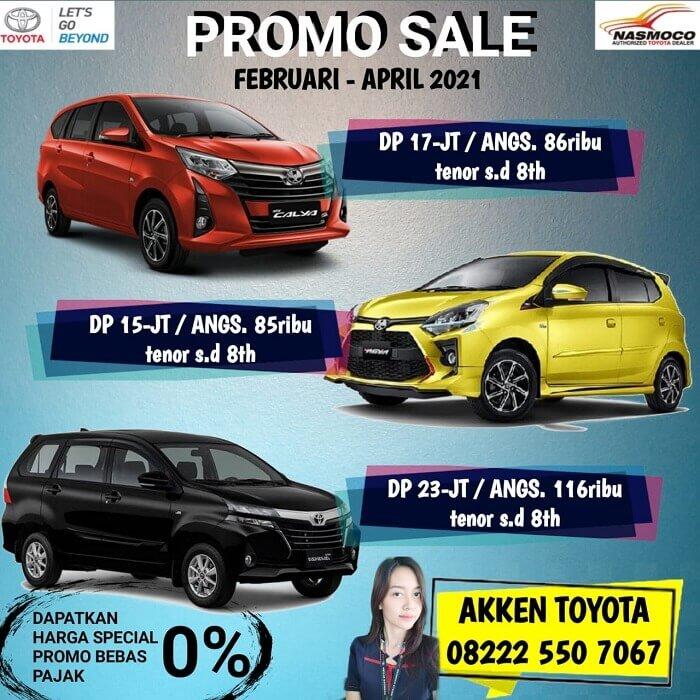 Promo Sale DP Murah Dan Angsuran Ringan Di Dealer Toyota Klaten