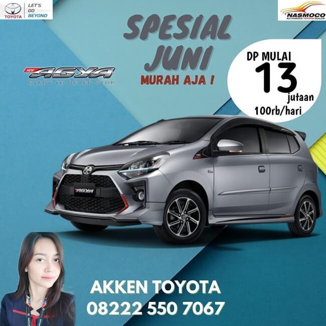 Spesial Promo Juni Beli Mobil Toyota DP Rendah Di Toyota Klaten