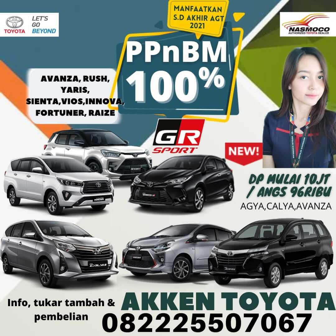 Promo Meriah Bulan Ini PPNBM 100% Di Dealer Toyota Klaten